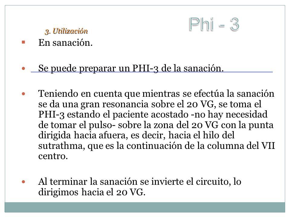 Phi - 3 En sanación. Se puede preparar un PHI-3 de la sanación.