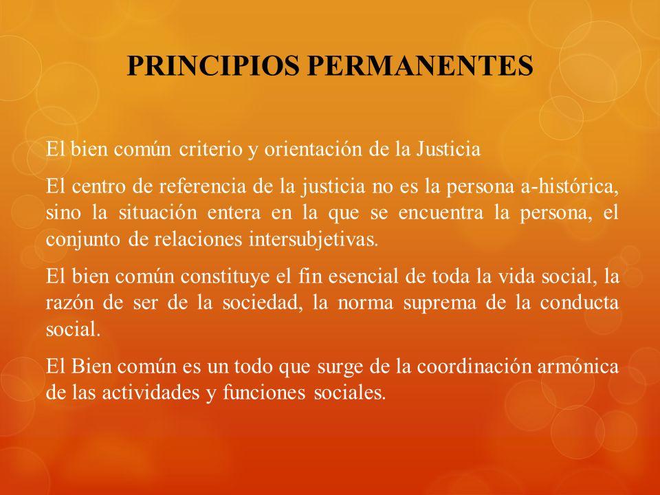 PRINCIPIOS PERMANENTES
