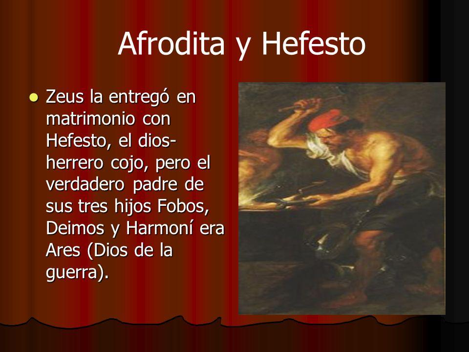 Afrodita y Hefesto