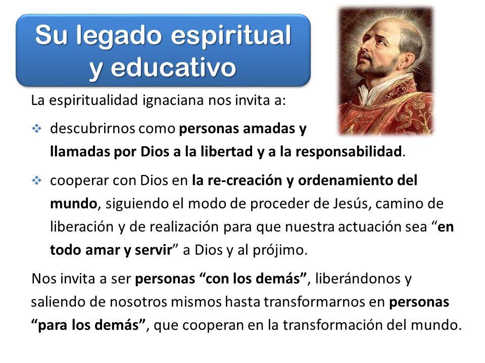 Su legado espiritual y educativo