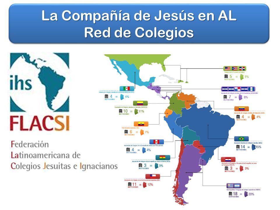 La Compañía de Jesús en AL Red de Colegios