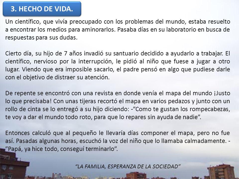 3. HECHO DE VIDA.