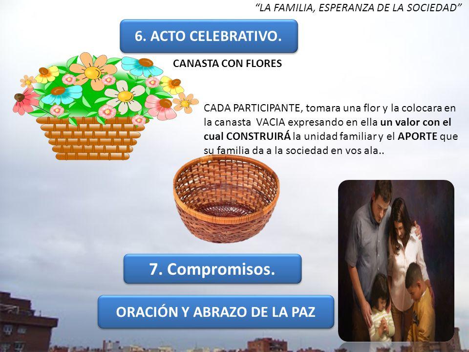 ORACIÓN Y ABRAZO DE LA PAZ
