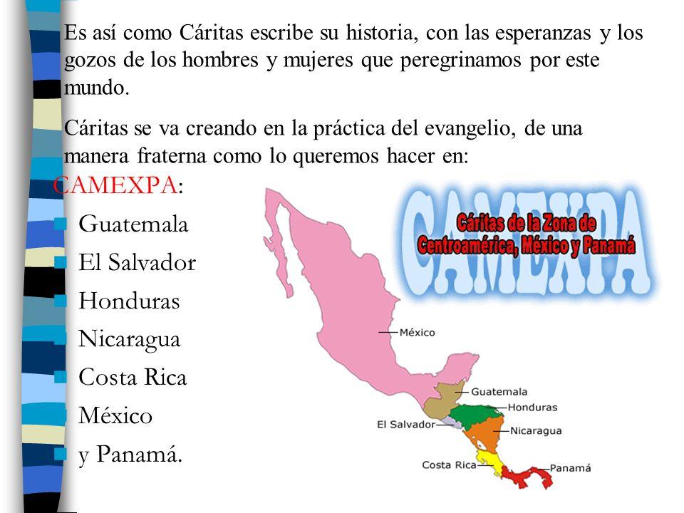CAMEXPA: Guatemala El Salvador Honduras Nicaragua Costa Rica México