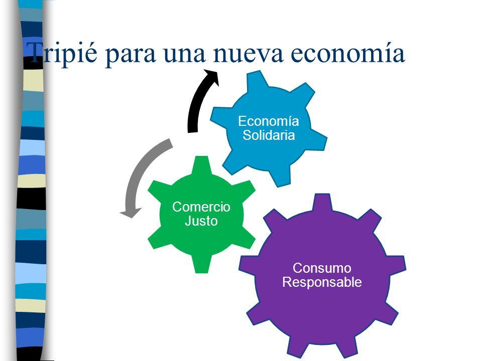 Tripié para una nueva economía