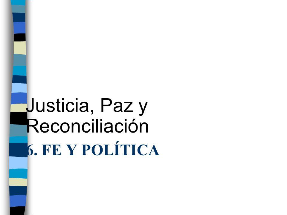 Justicia, Paz y Reconciliación