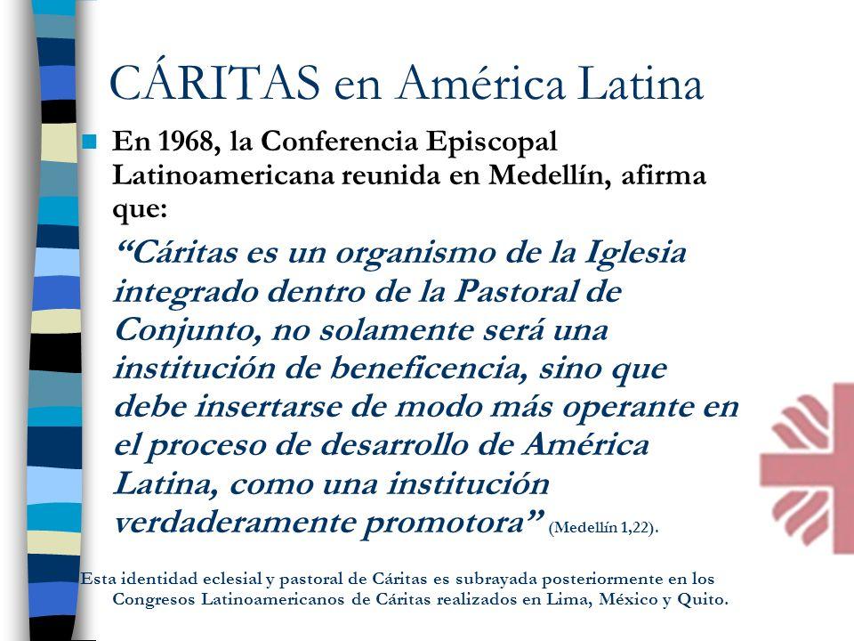 CÁRITAS en América Latina