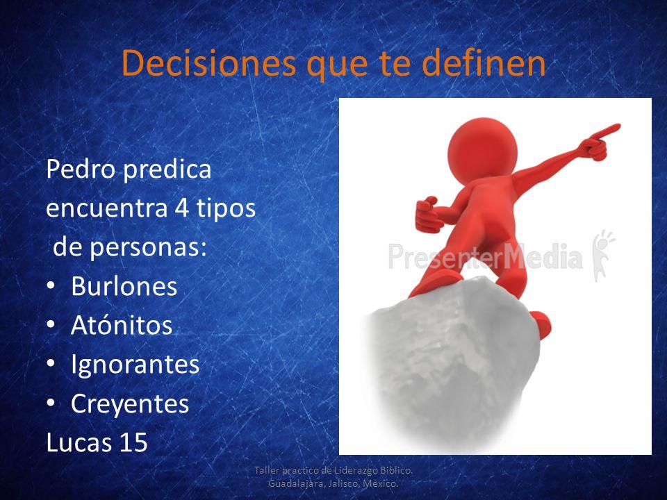 Decisiones que te definen
