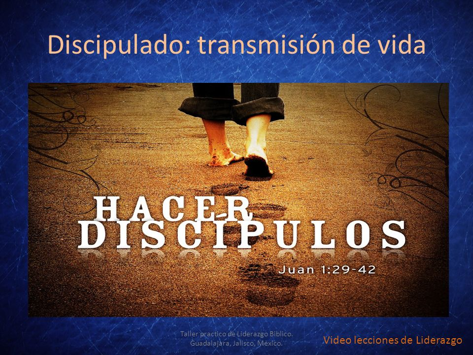 Discipulado: transmisión de vida