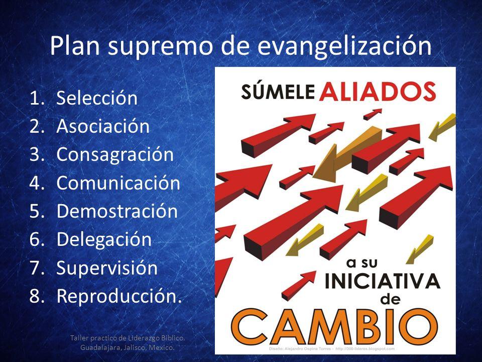 Plan supremo de evangelización
