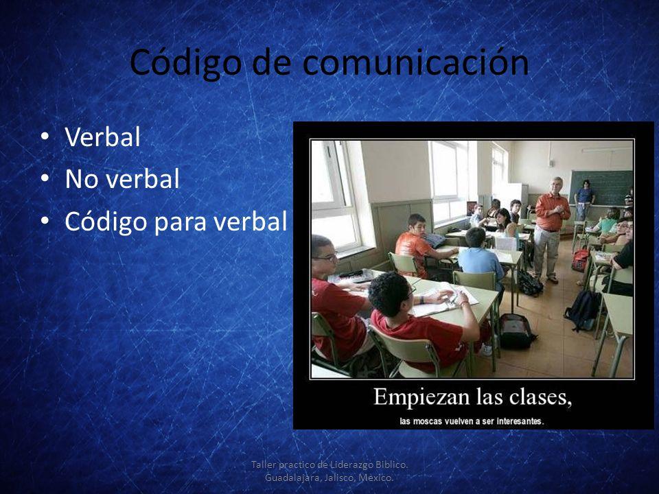 Código de comunicación