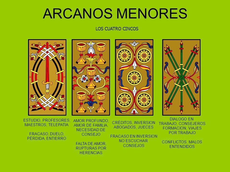 ARCANOS MENORES LOS CUATRO CINCOS DIALOGO EN ESTUDIO, PROFESORES,