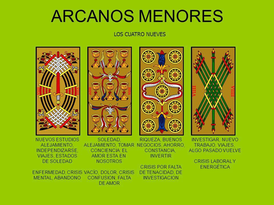 ARCANOS MENORES LOS CUATRO NUEVES NUEVOS ESTUDIOS ALEJAMIENTO,