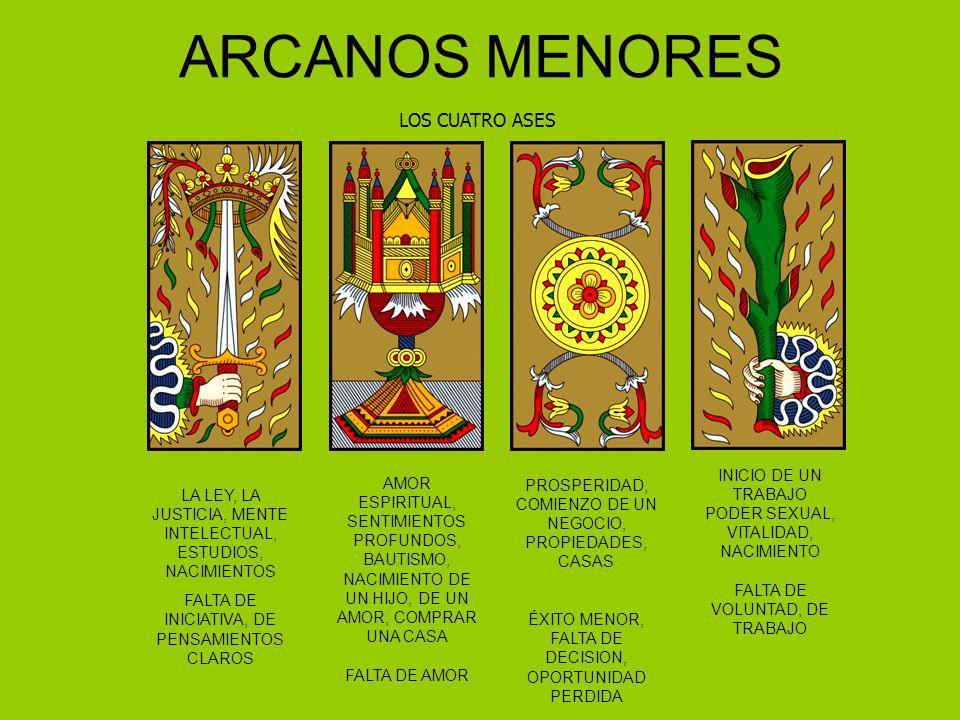 ARCANOS MENORES LOS CUATRO ASES INICIO DE UN TRABAJO