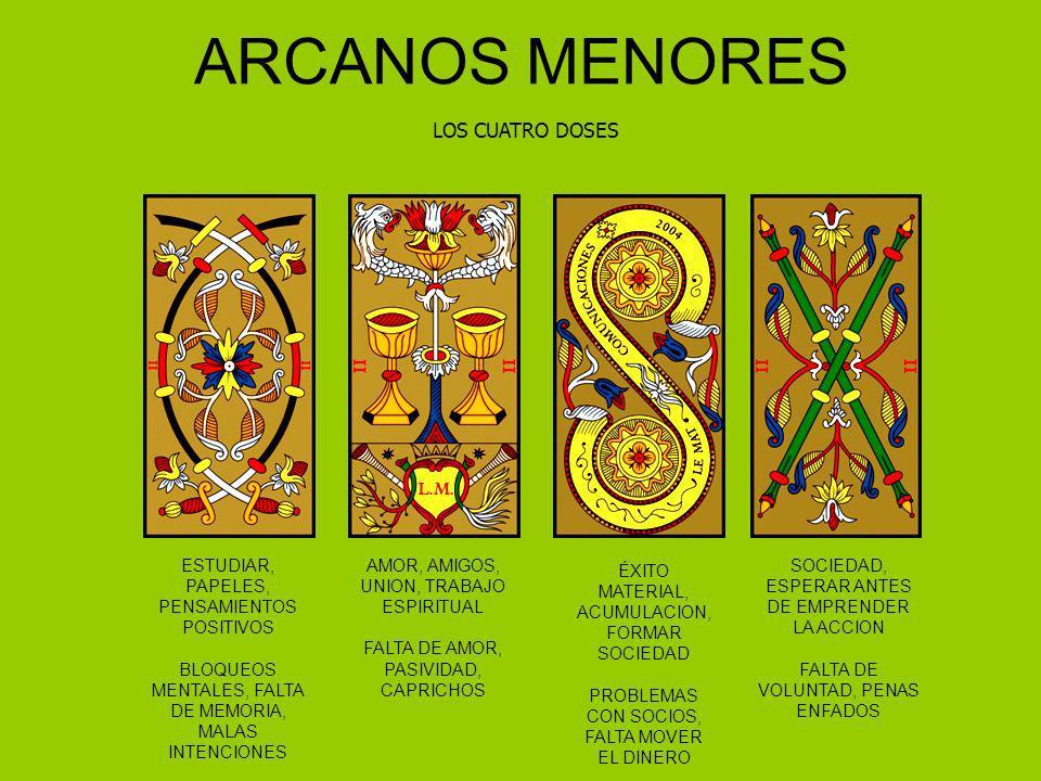 ARCANOS MENORES LOS CUATRO DOSES