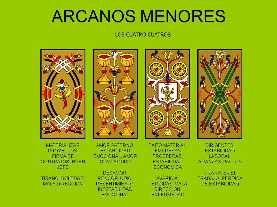 ARCANOS MENORES LOS CUATRO CUATROS