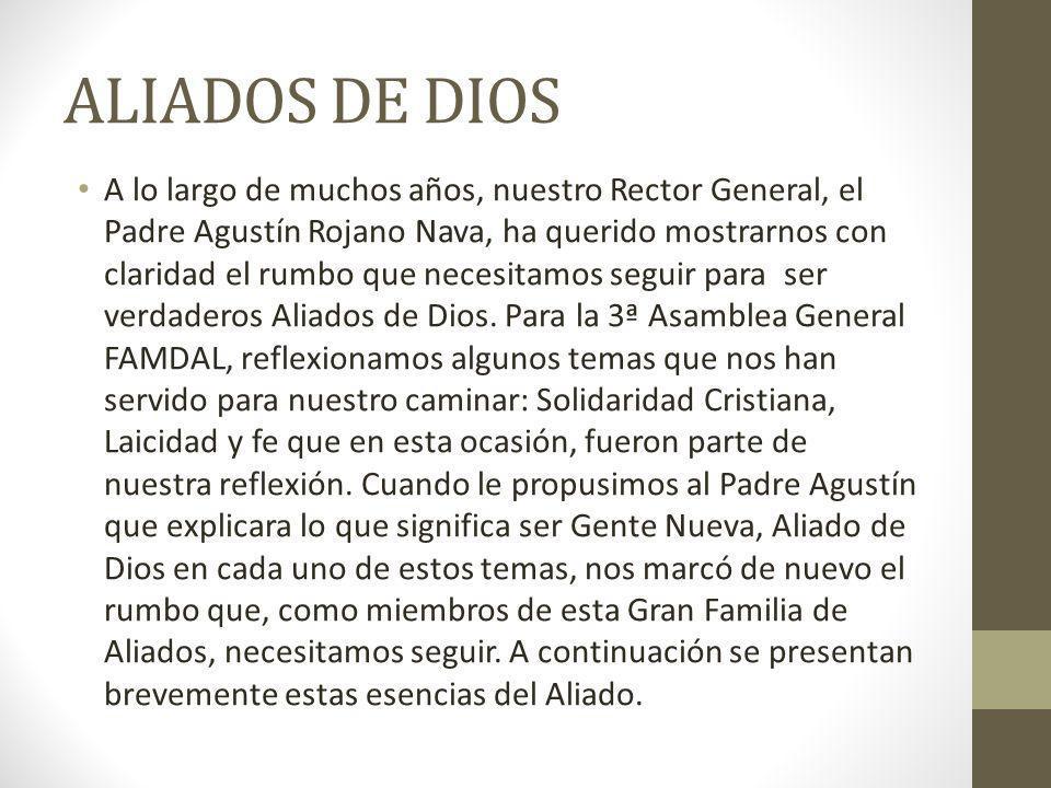 ALIADOS DE DIOS