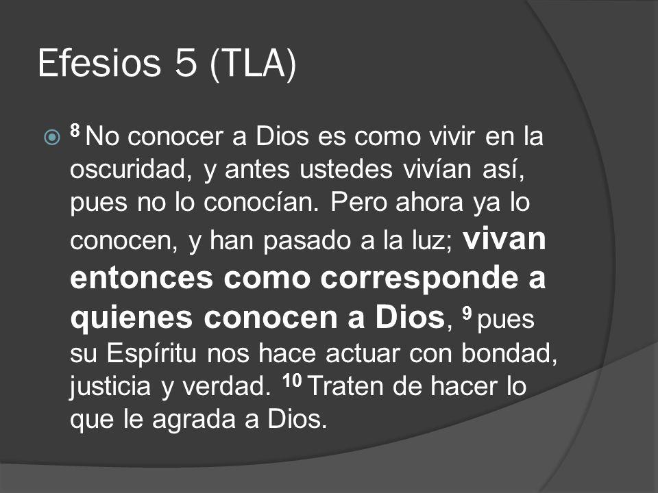 Efesios 5 (TLA)