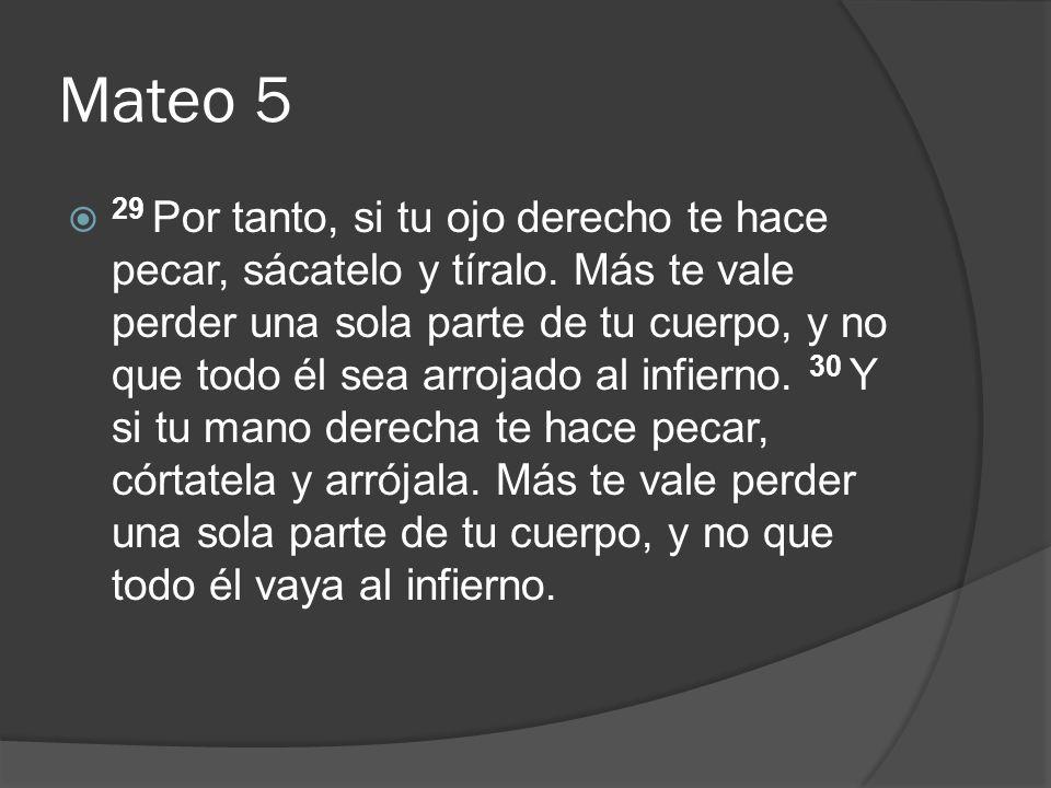 Mateo 5