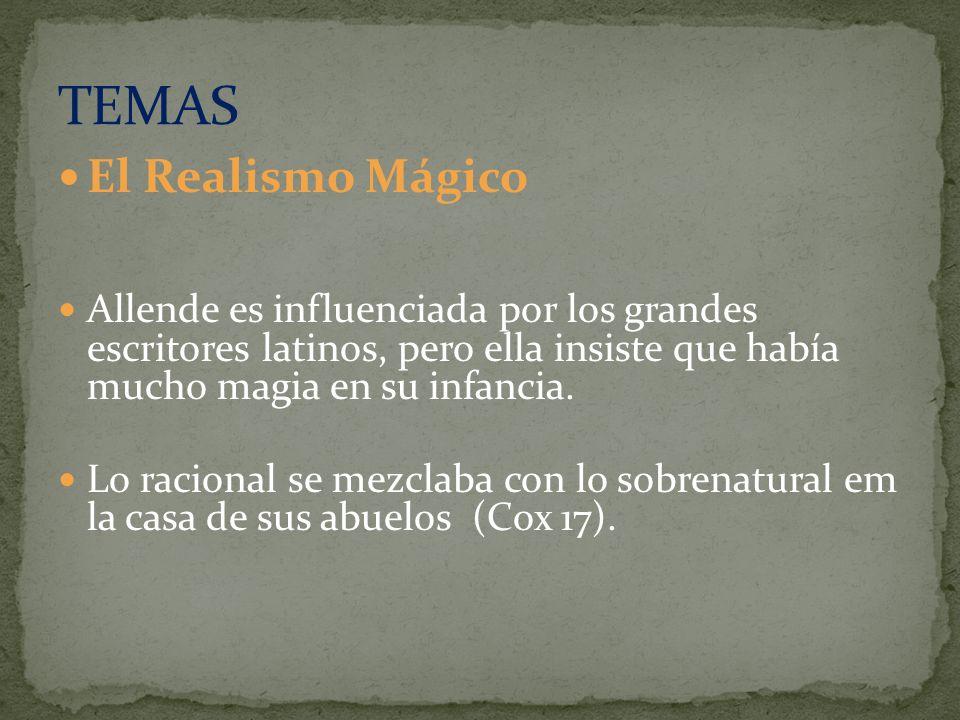 TEMAS El Realismo Mágico