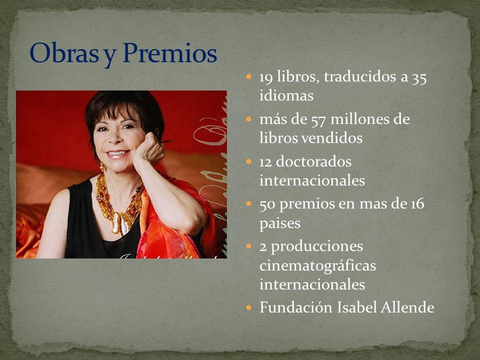 Obras y Premios 19 libros, traducidos a 35 idiomas