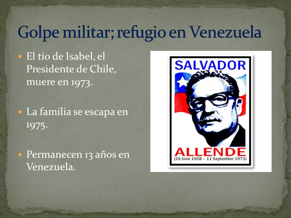 Golpe militar; refugio en Venezuela
