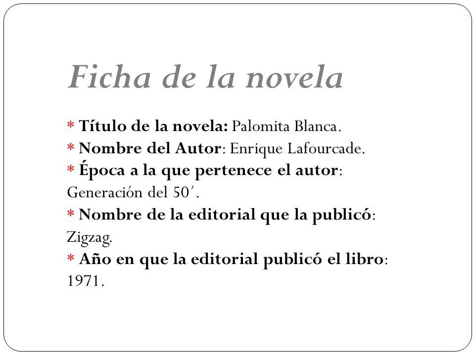 Ficha de la novela