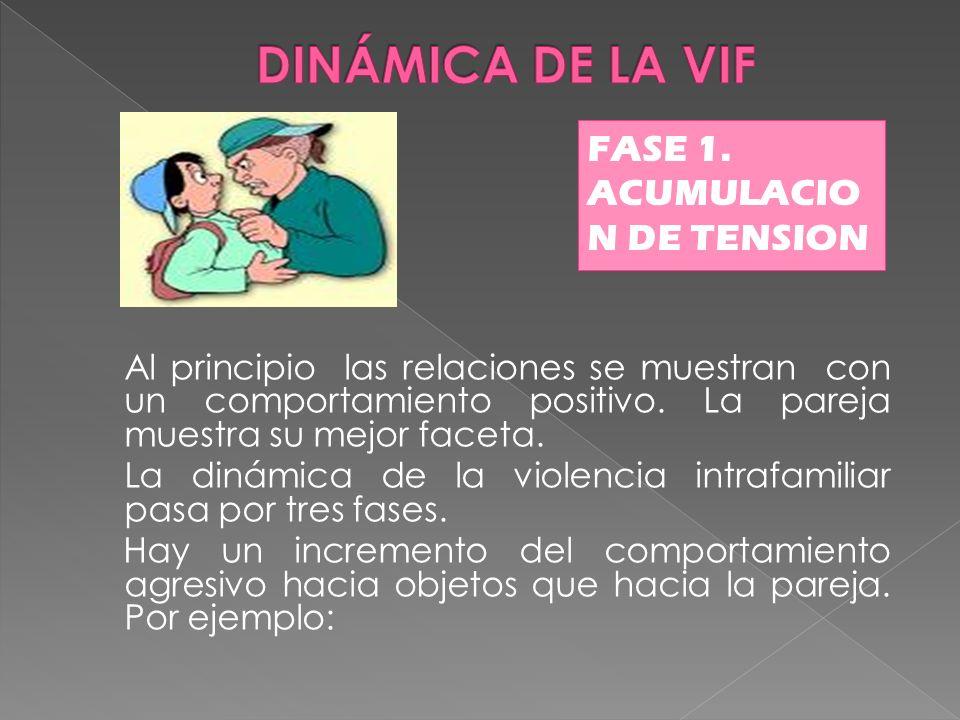 DINÁMICA DE LA VIF FASE 1. ACUMULACIO N DE TENSION