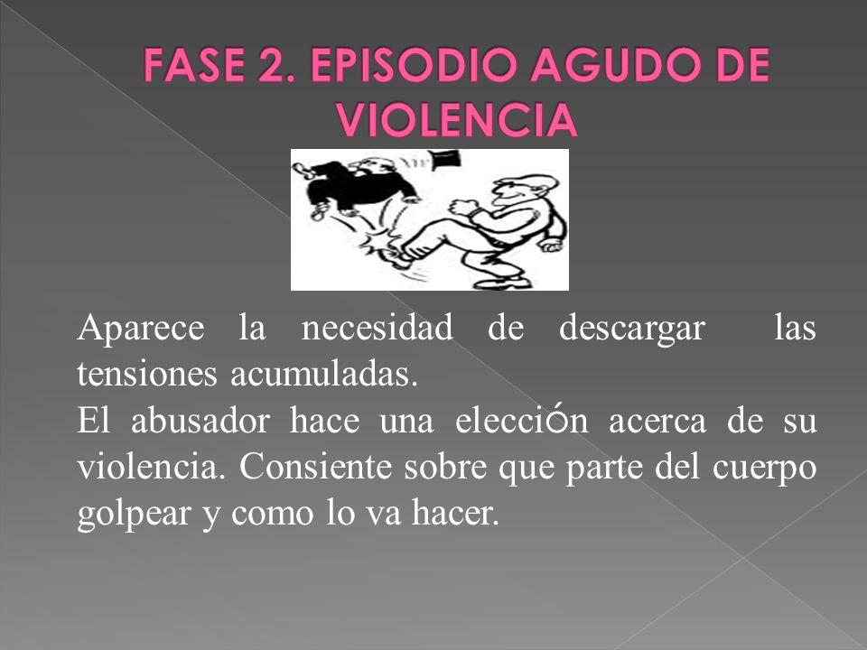 FASE 2. EPISODIO AGUDO DE VIOLENCIA