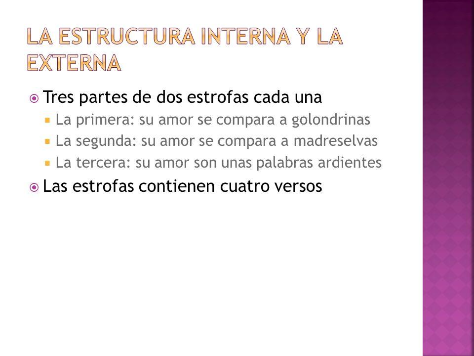 La estructura interna y la externa