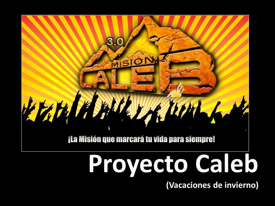 Proyecto Caleb (Vacaciones de invierno)