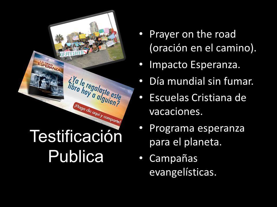 Testificación Publica