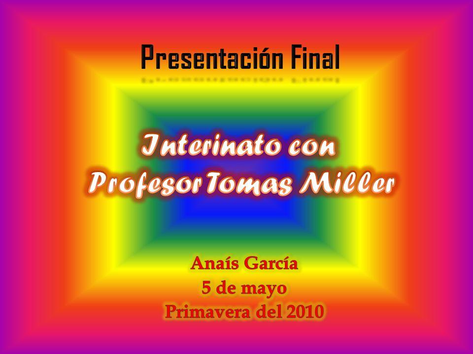 Anaís García 5 de mayo Primavera del 2010