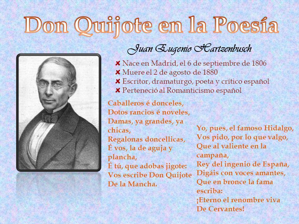 Don Quijote en la Poesía