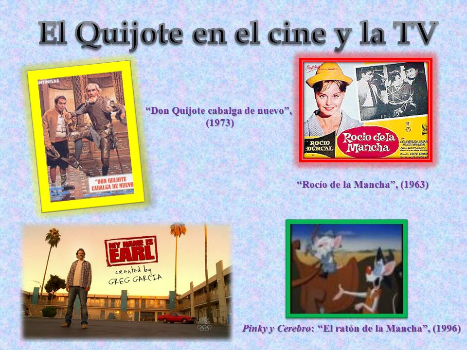 El Quijote en el cine y la TV Don Quijote cabalga de nuevo ,