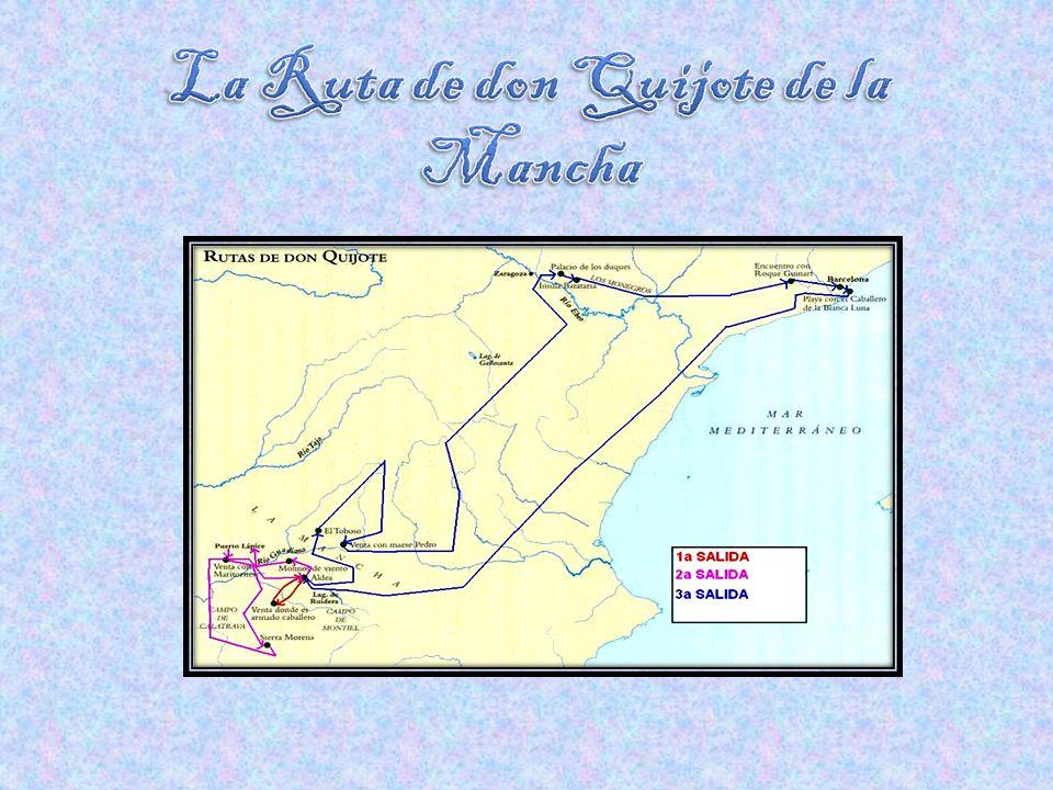La Ruta de don Quijote de la Mancha