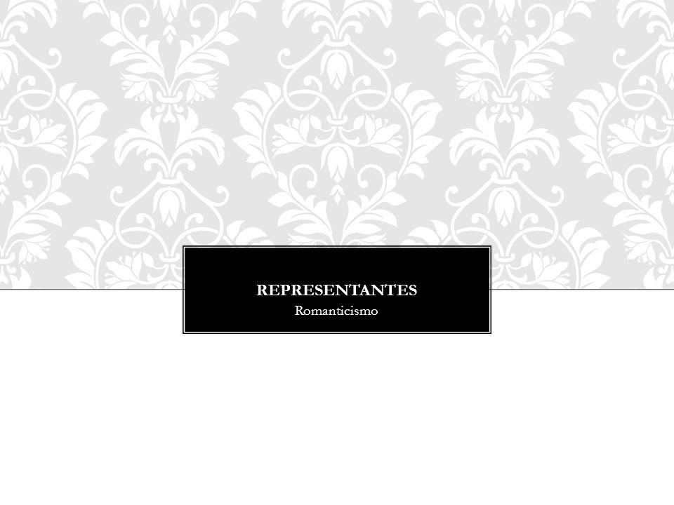 Representantes Romanticismo