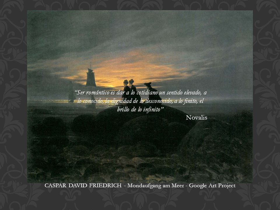 CASPAR DAVID FRIEDRICH - Mondaufgang am Meer - Google Art Project