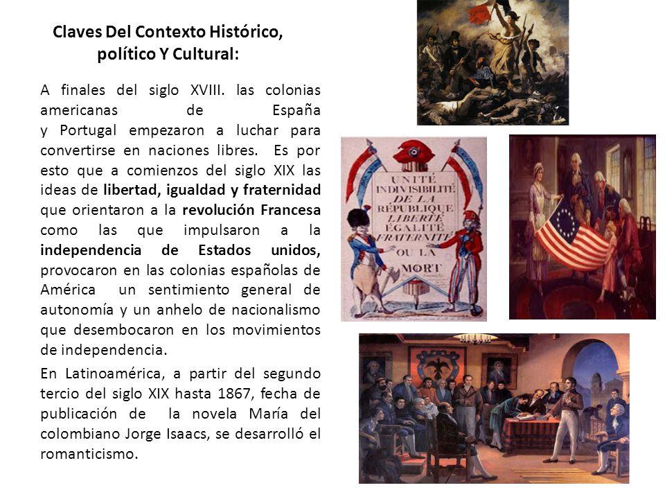 Claves Del Contexto Histórico, político Y Cultural: