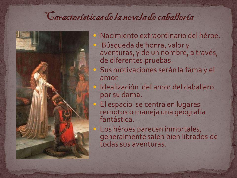 Características de la novela de caballería