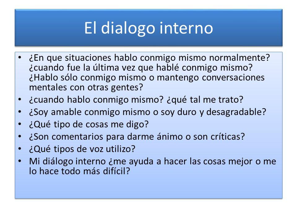 El dialogo interno