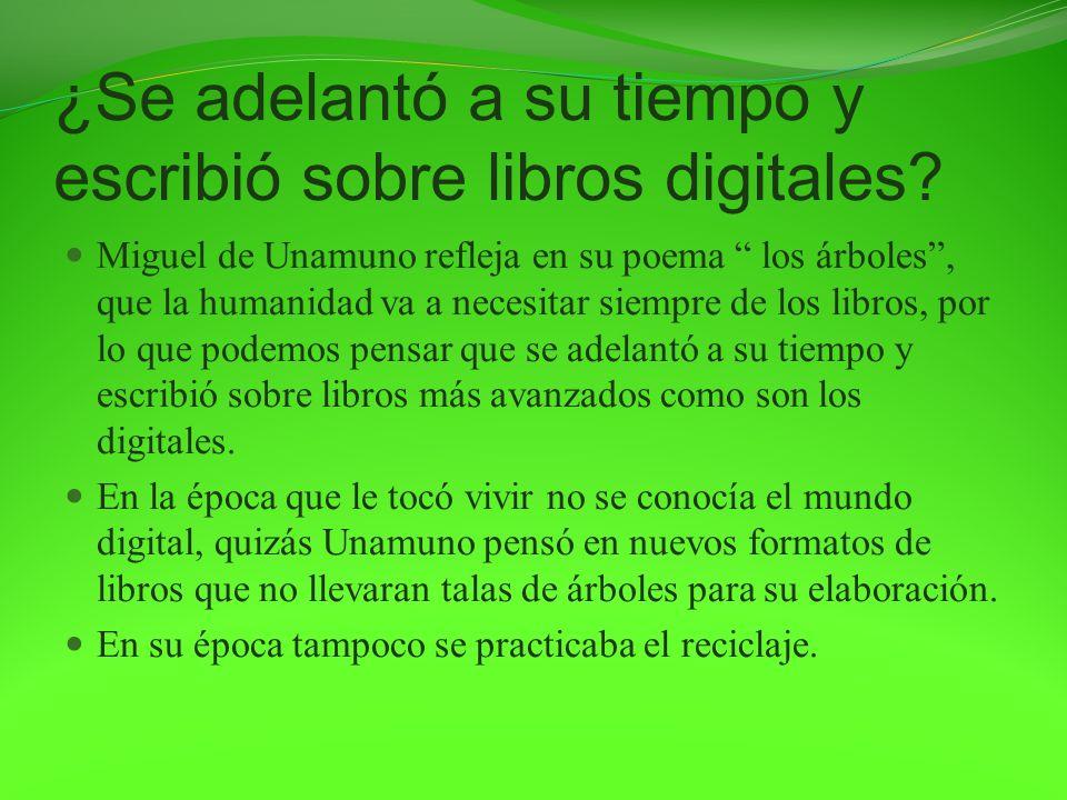 ¿Se adelantó a su tiempo y escribió sobre libros digitales