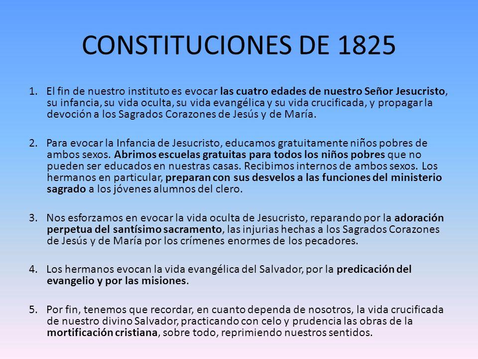 CONSTITUCIONES DE 1825
