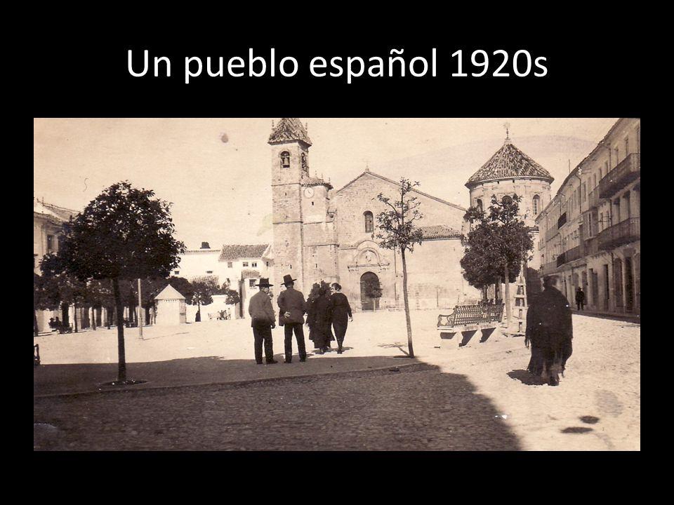 Un pueblo español 1920s