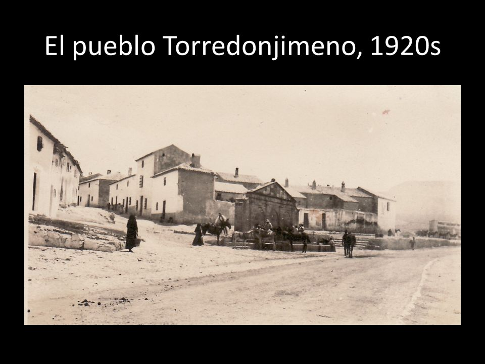 El pueblo Torredonjimeno, 1920s