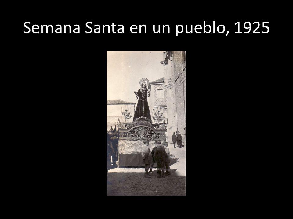 Semana Santa en un pueblo, 1925