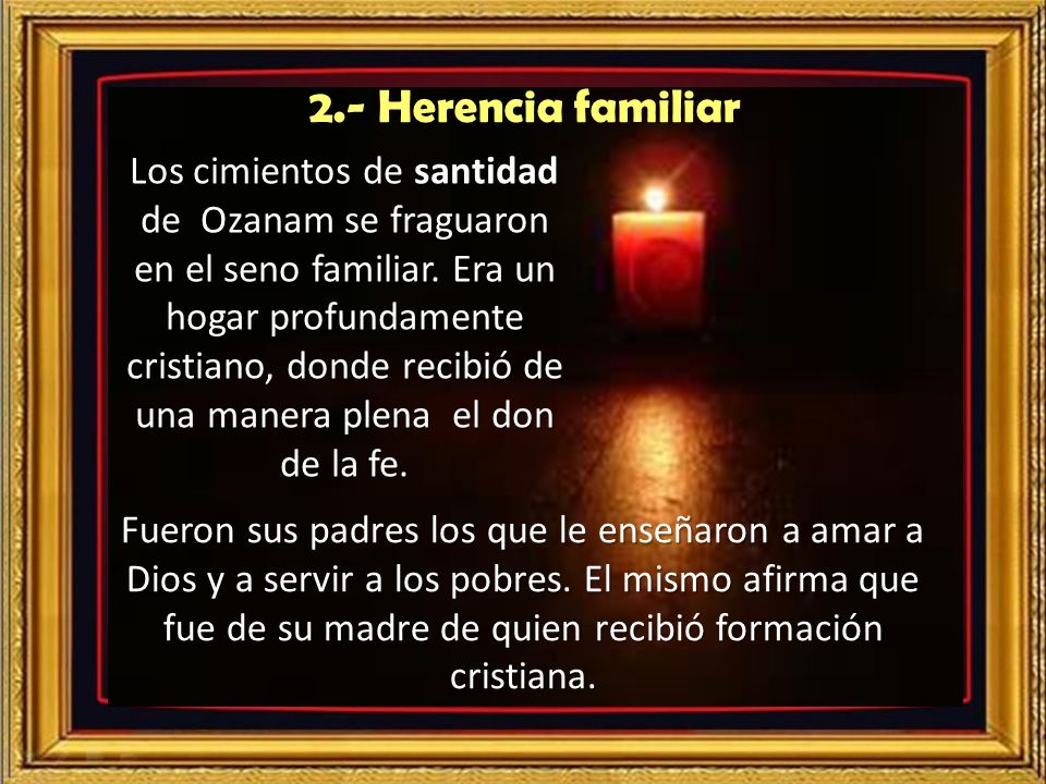 2.- Herencia familiar