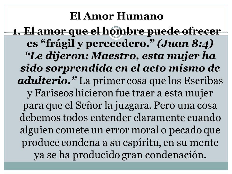 El Amor Humano 1.