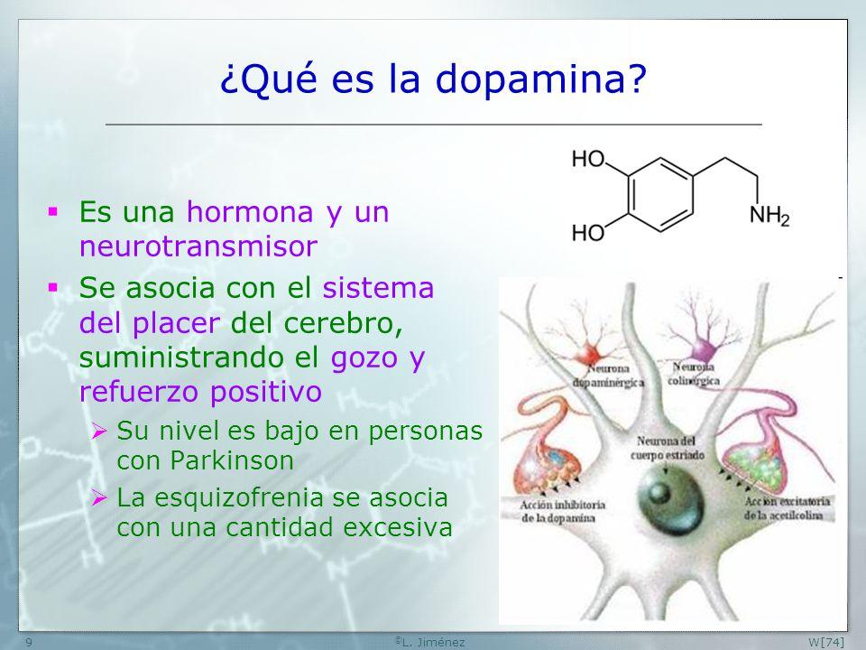 ¿Qué es la dopamina Es una hormona y un neurotransmisor