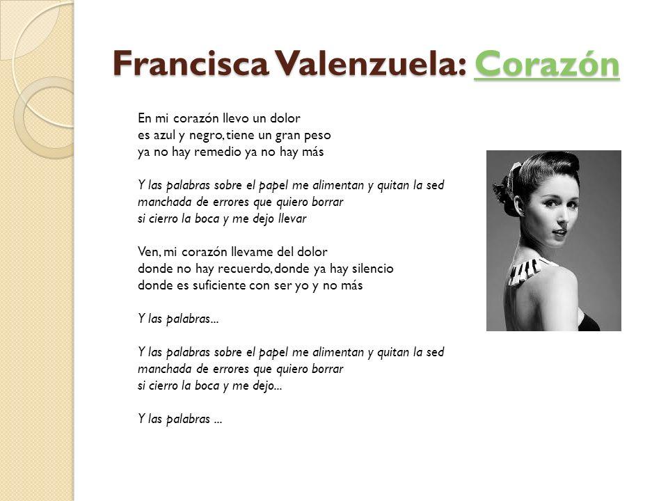 Francisca Valenzuela: Corazón